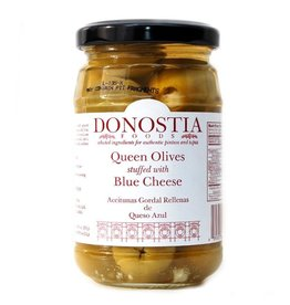 Donostia Foods Queen Olives Stuffed with Blue Cheese