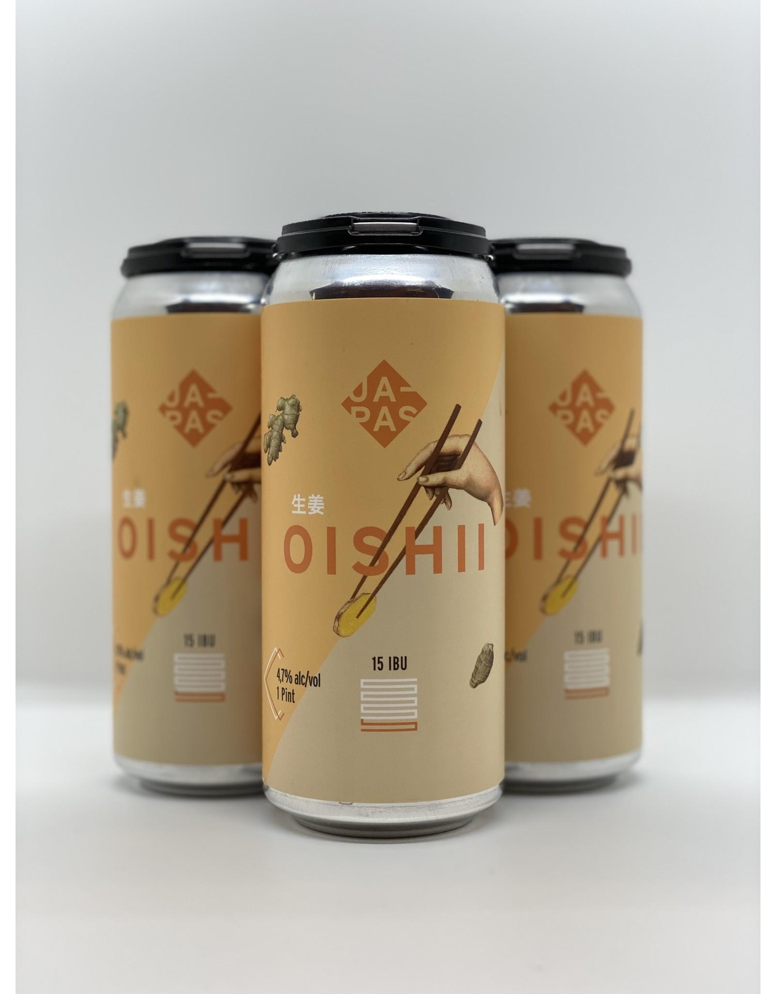 Japas Oishii Witbier 16oz 4pk Cans