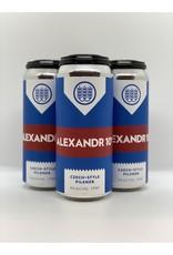 Schilling Beer Co. Alexandr 10 Pilsner 4pk 16oz cans