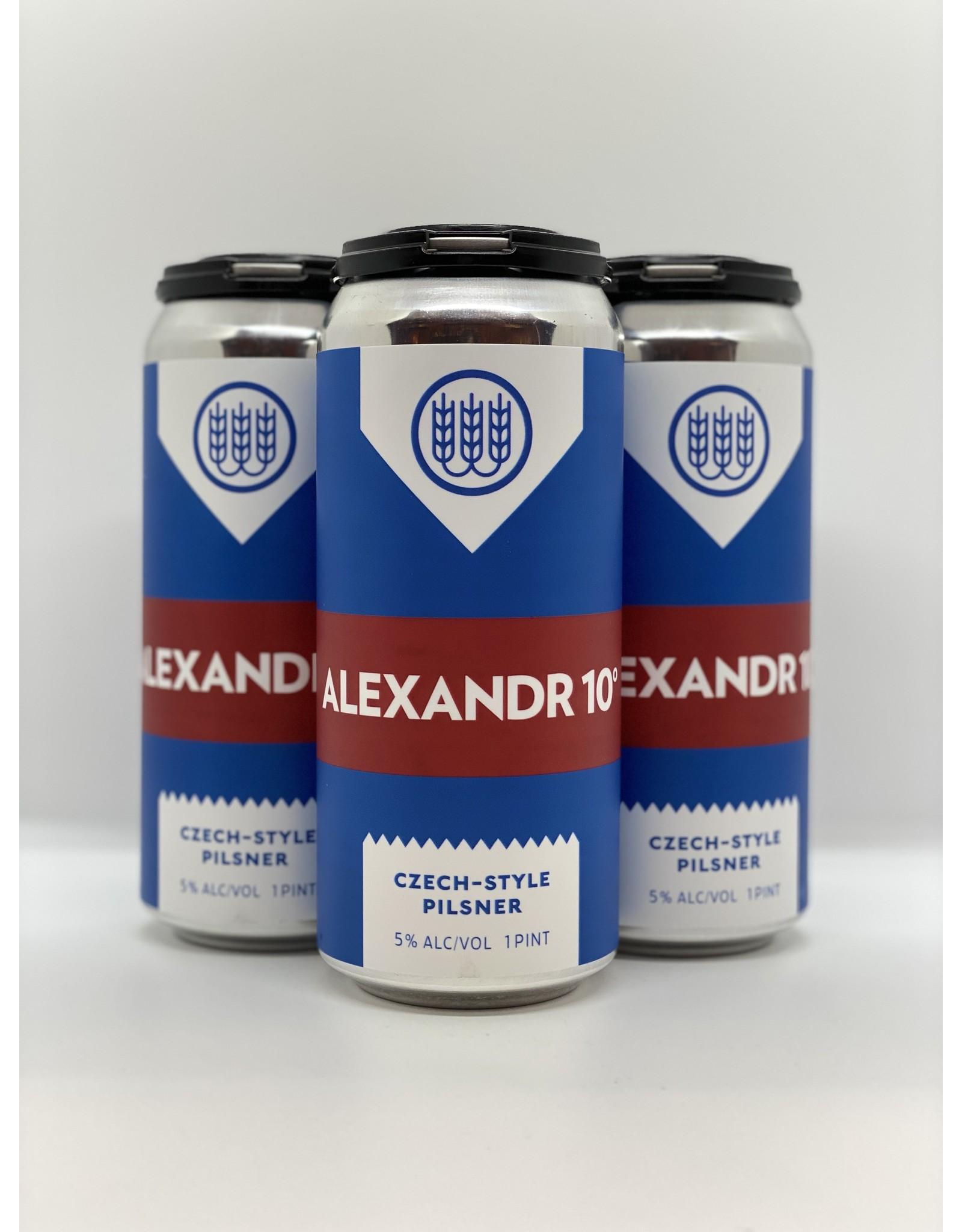 Schilling Beer Co. Alexandr 10 Pilsner 4-Pack Cans