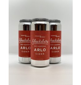Shacksbury  Dry-Hopped Arlo Cider 4-Pack Cans