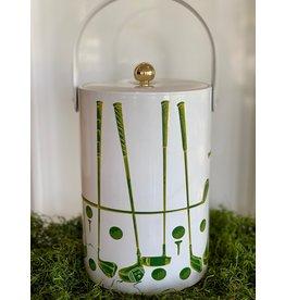 Georges Briard Golf Ice Bucket