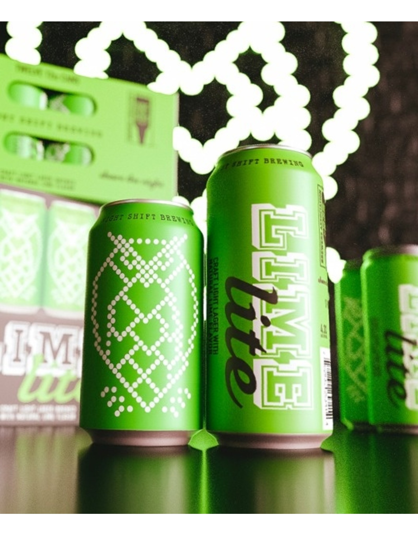 Night Shift Lime Lite Lager 16oz 4pk Cans