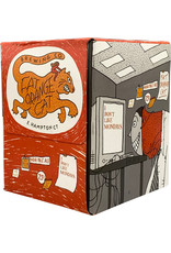 Fat Orange Cat I Don't Like Mondays 4-Pack Cans