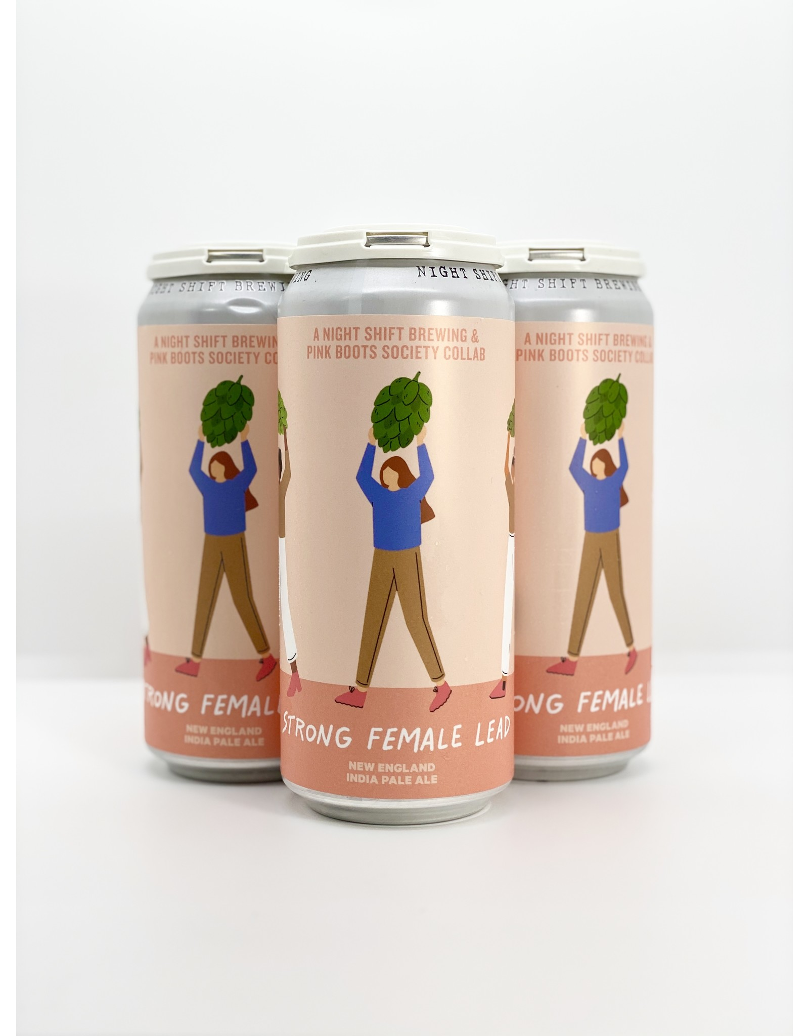 Night Shift Brewing Strong Female Lead NEIPA 4-Pack Cans