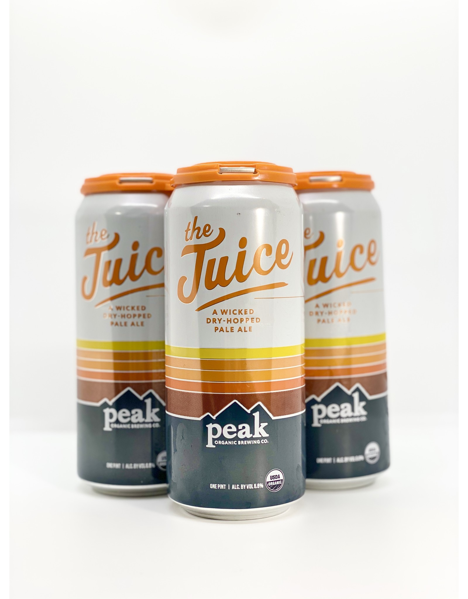 Peak Organic The Juice Pale Ale 4-Pack Cans