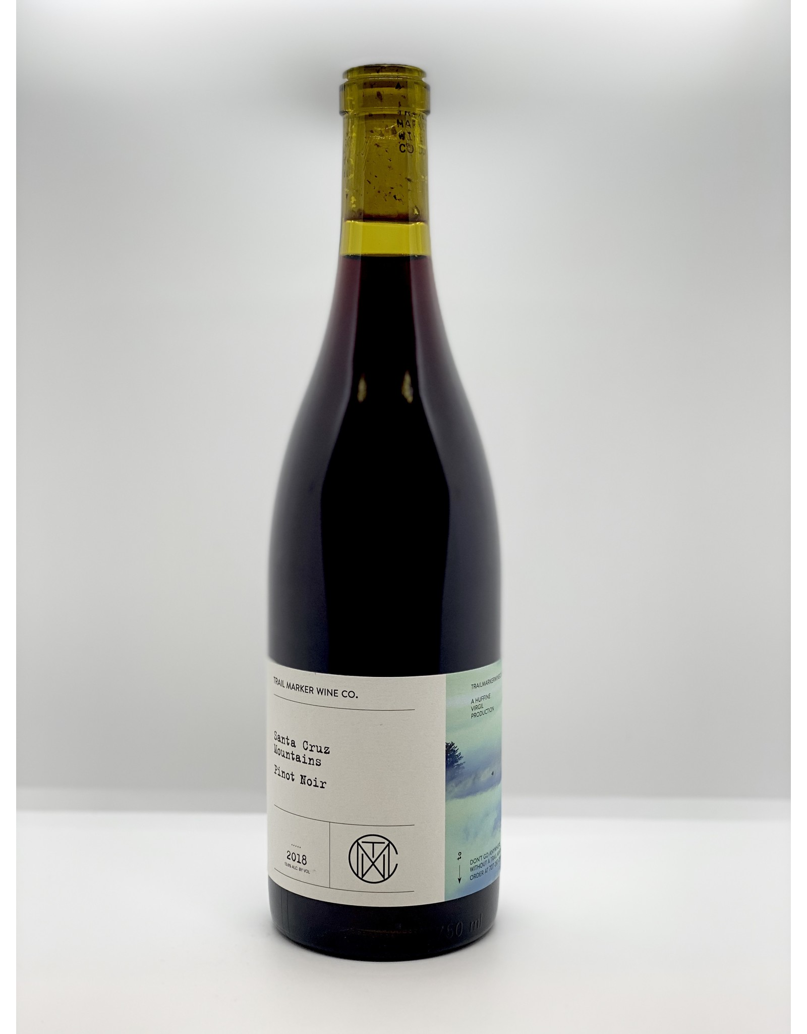 Trail Marker Wine Co Pinot Noir Santa Cruz Mointains