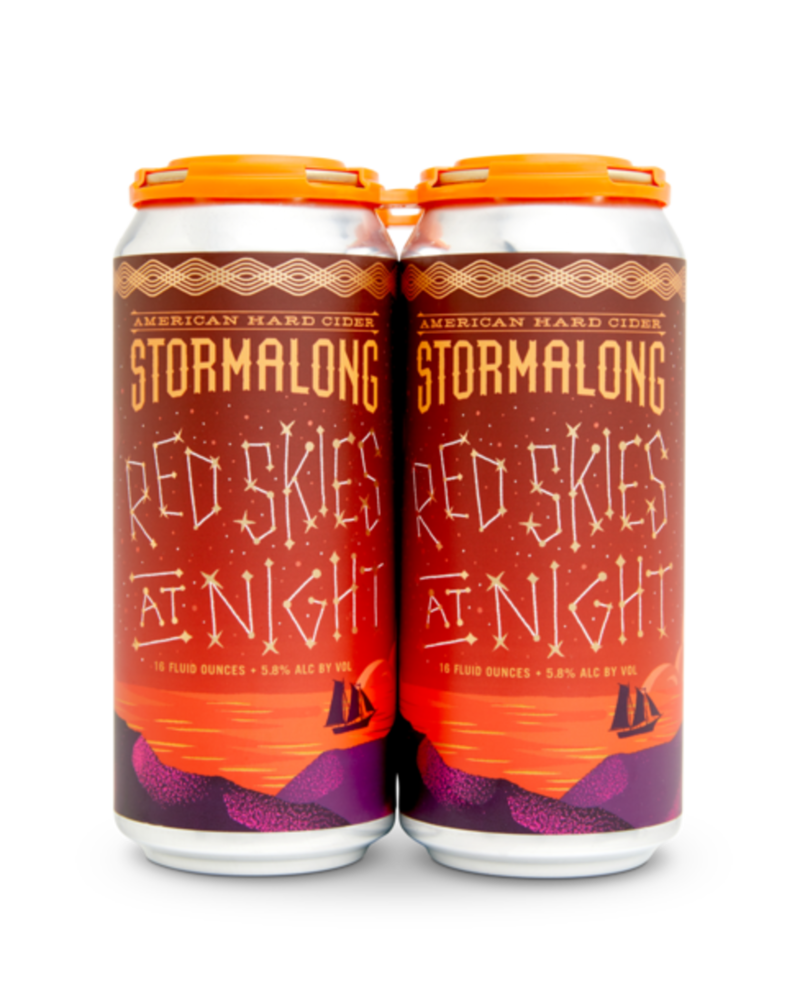 Stormalong Cider 'Red Skies at Night' 4pk