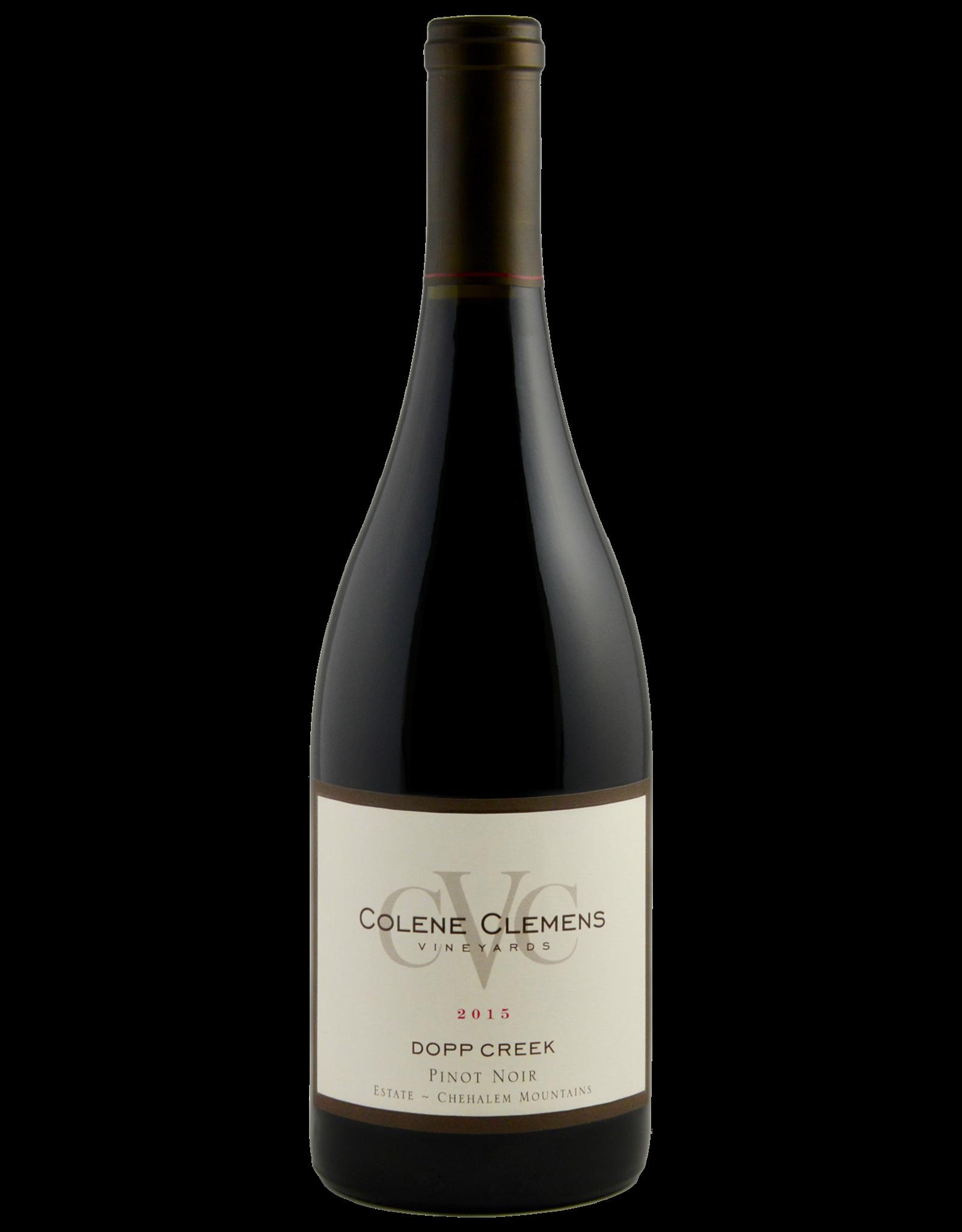 Colene Clemens Vineyards Dopp Creek Pinot Noir