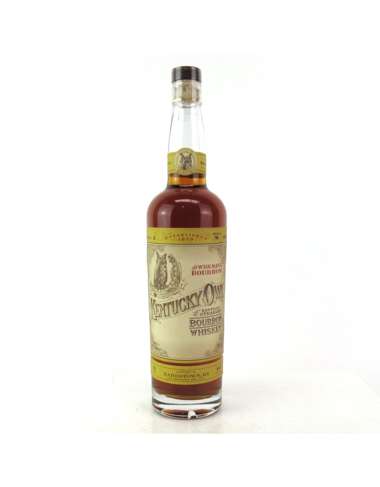 Kentucky Owl Bourbon Batch #8