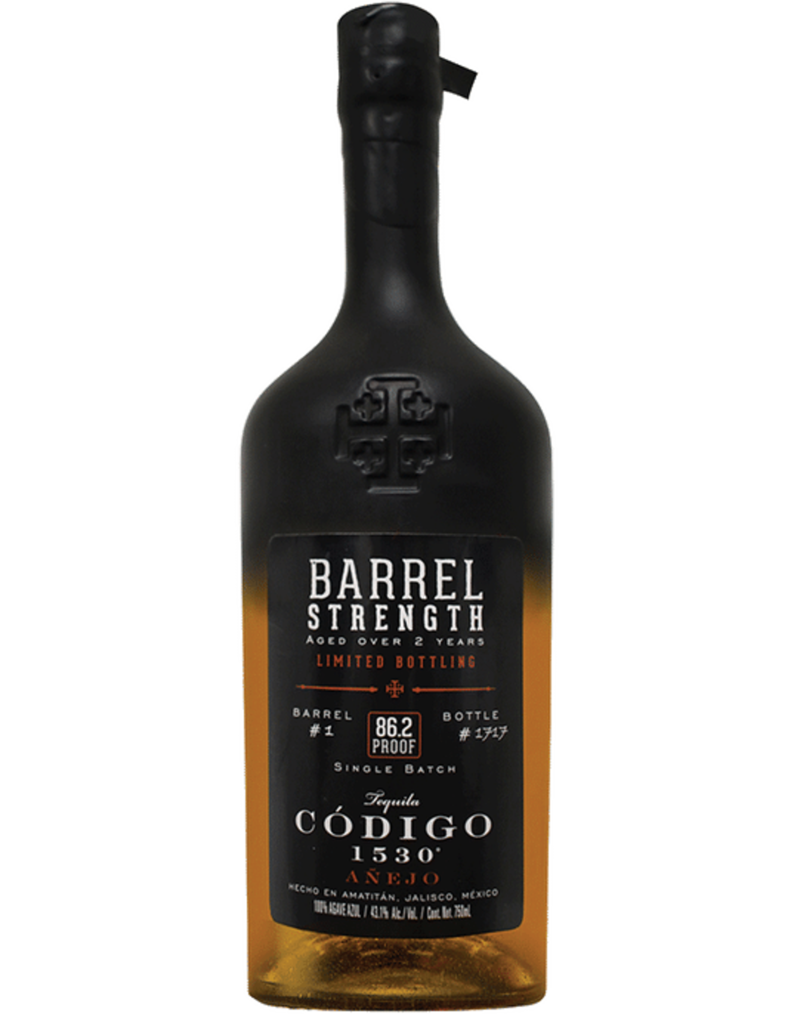 Codigo Barrel Strength Anejo