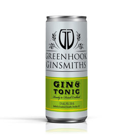Greenhook Ginsmith Gin & Tonic Can