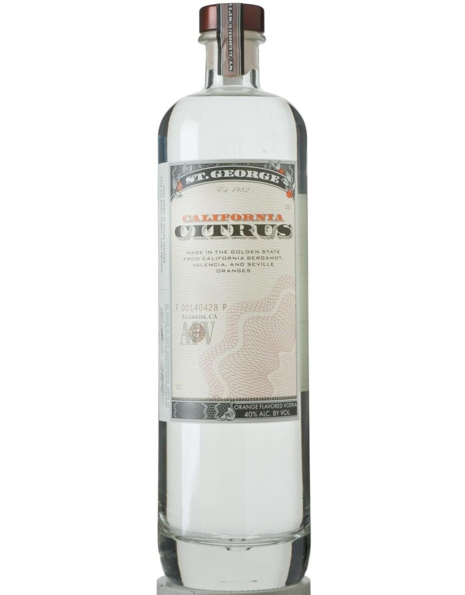 St. George Citrus Vodka