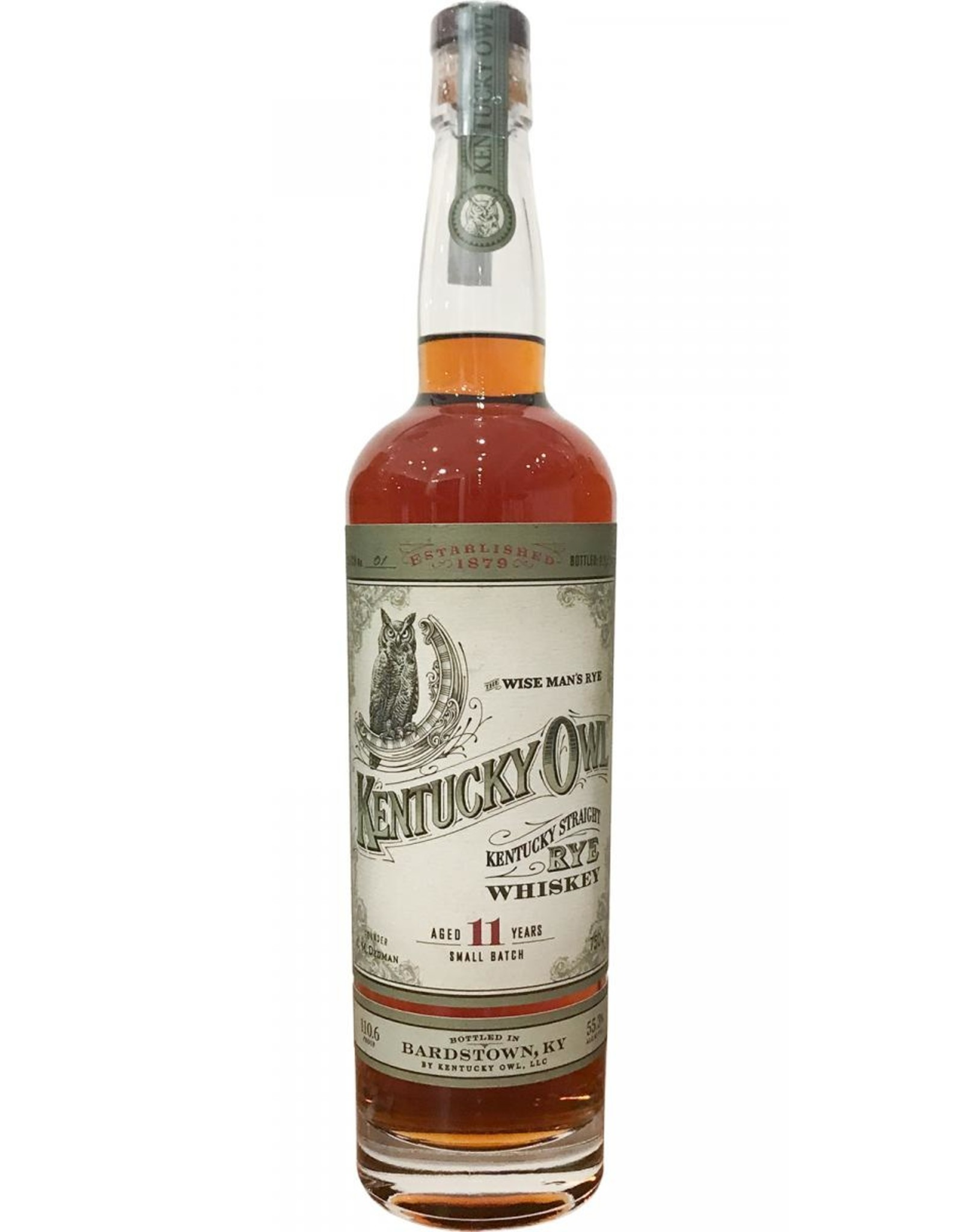 Kentucky Owl Rye Whiskey 11 Year