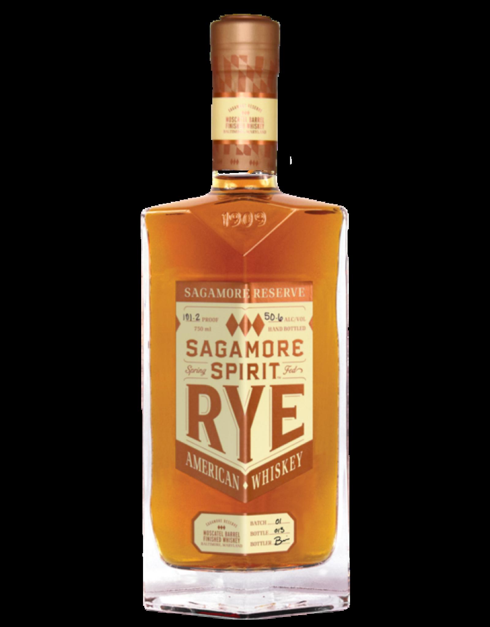 Sagamore Spirit Rye Moscatel Barrel Finished