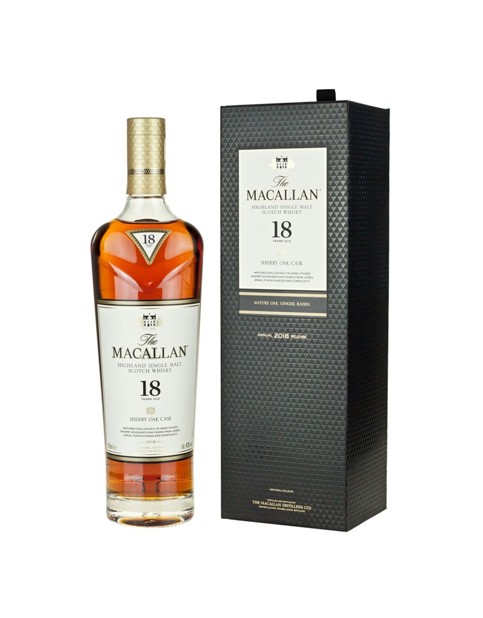 Macallan 18 Year Sherry Oak