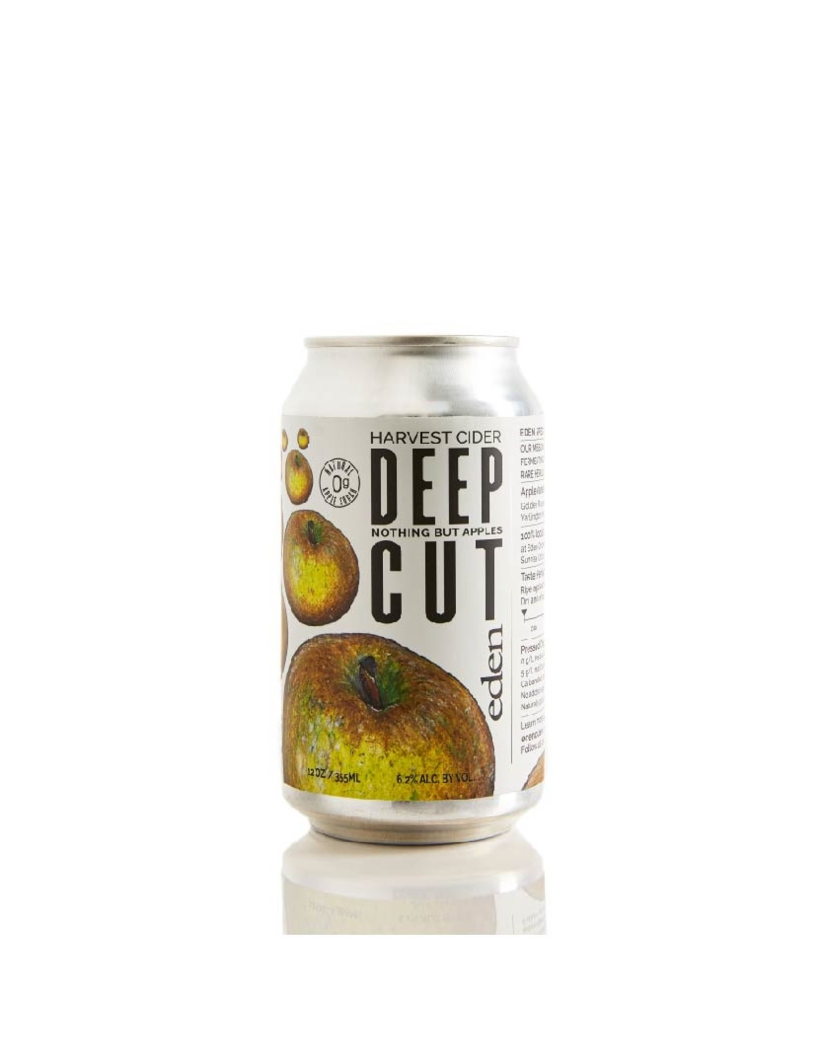 Eden Deep Cut Harvest Cider 4-Pack