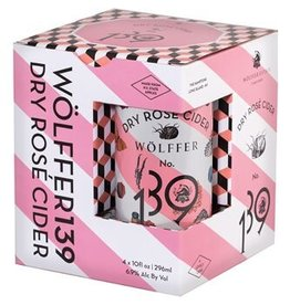 Wolffer Dry Rose Cider Cans 4-Pack