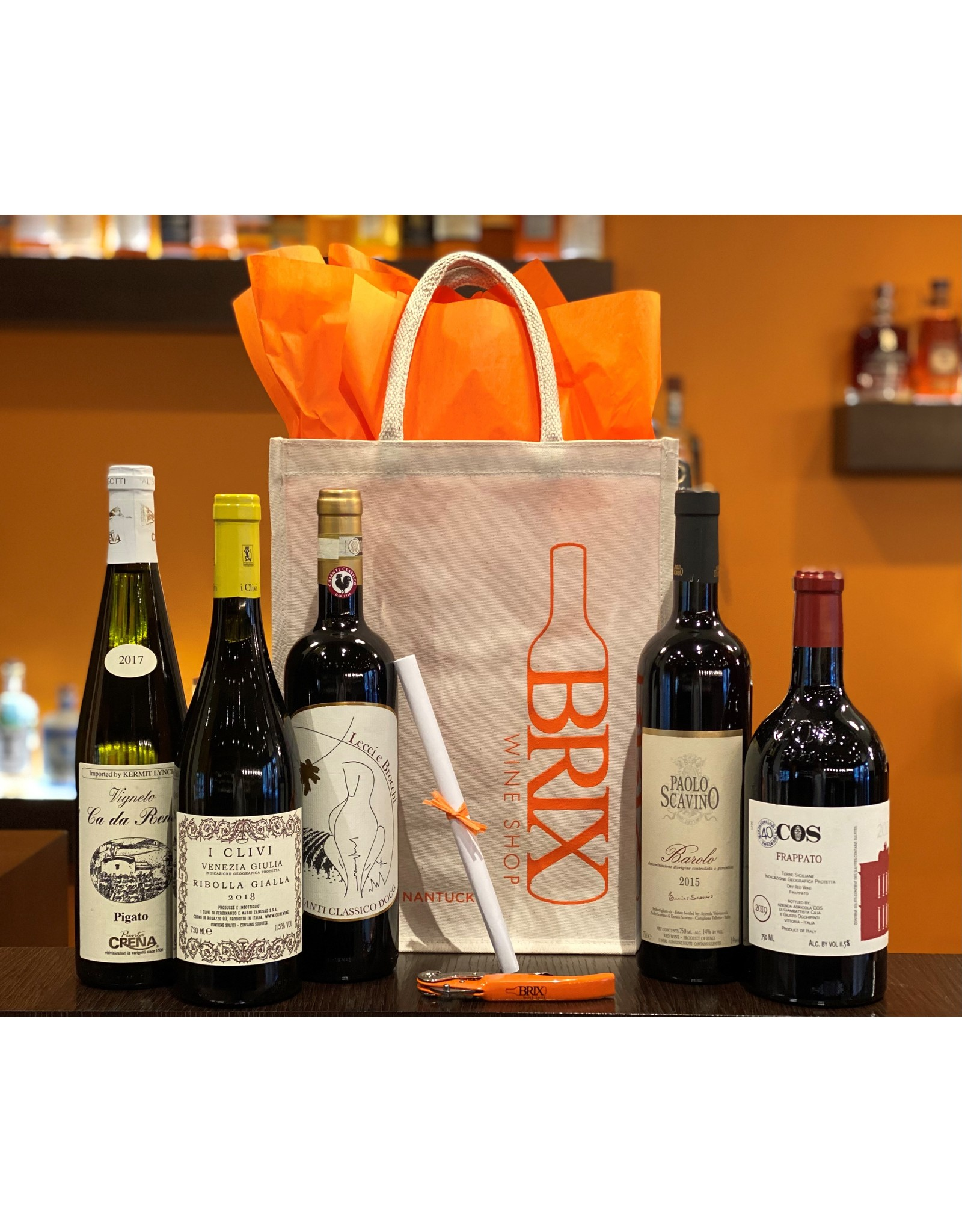 BRIX Tastings to Go—Terroir of Italy
