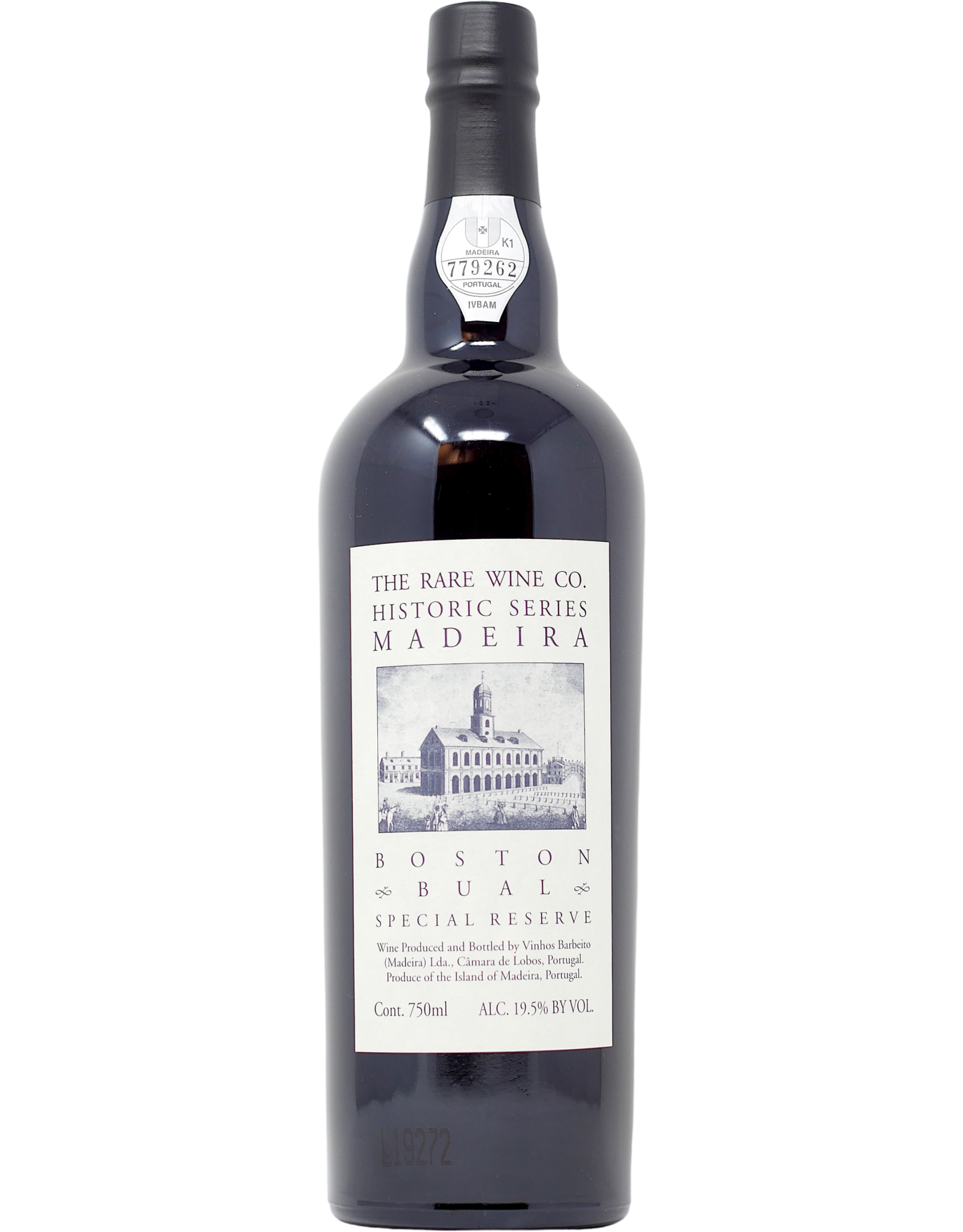 Rare Wine Co. Historic Series Boston Bual  Madeira