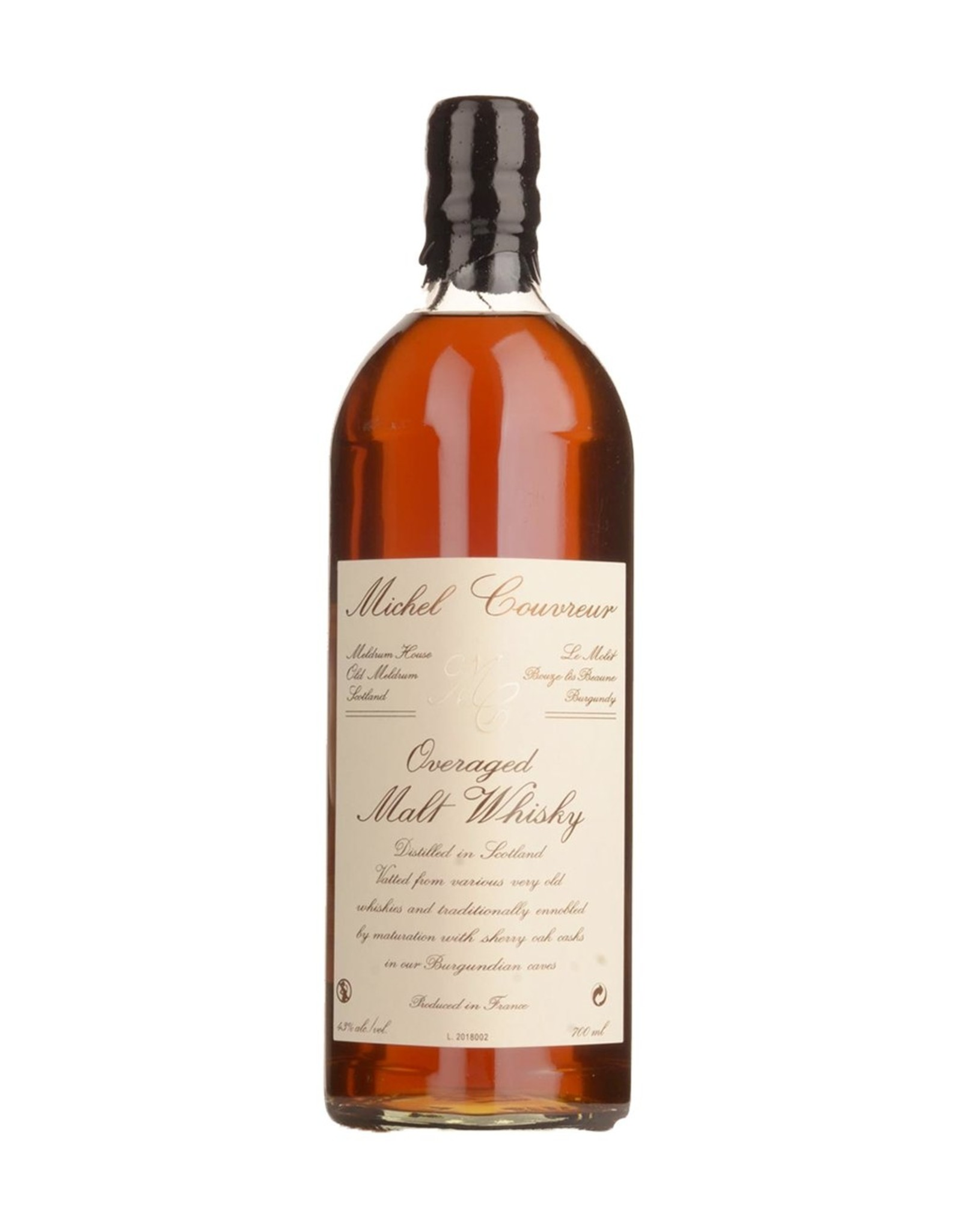 Michel Couvreur Overaged 12 Year Old Malt Whiskey