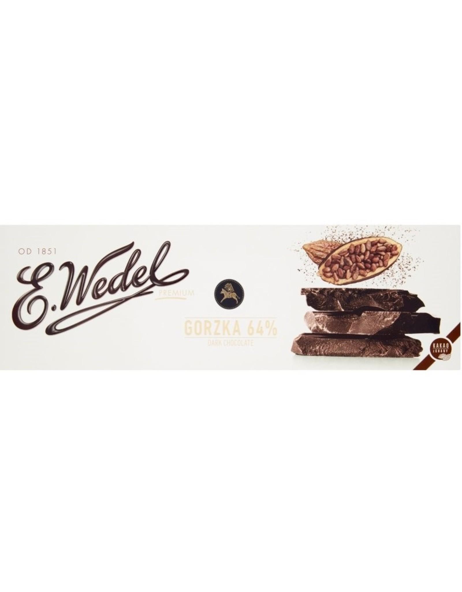 Wedel 64% Dark Chocolate Bar Double