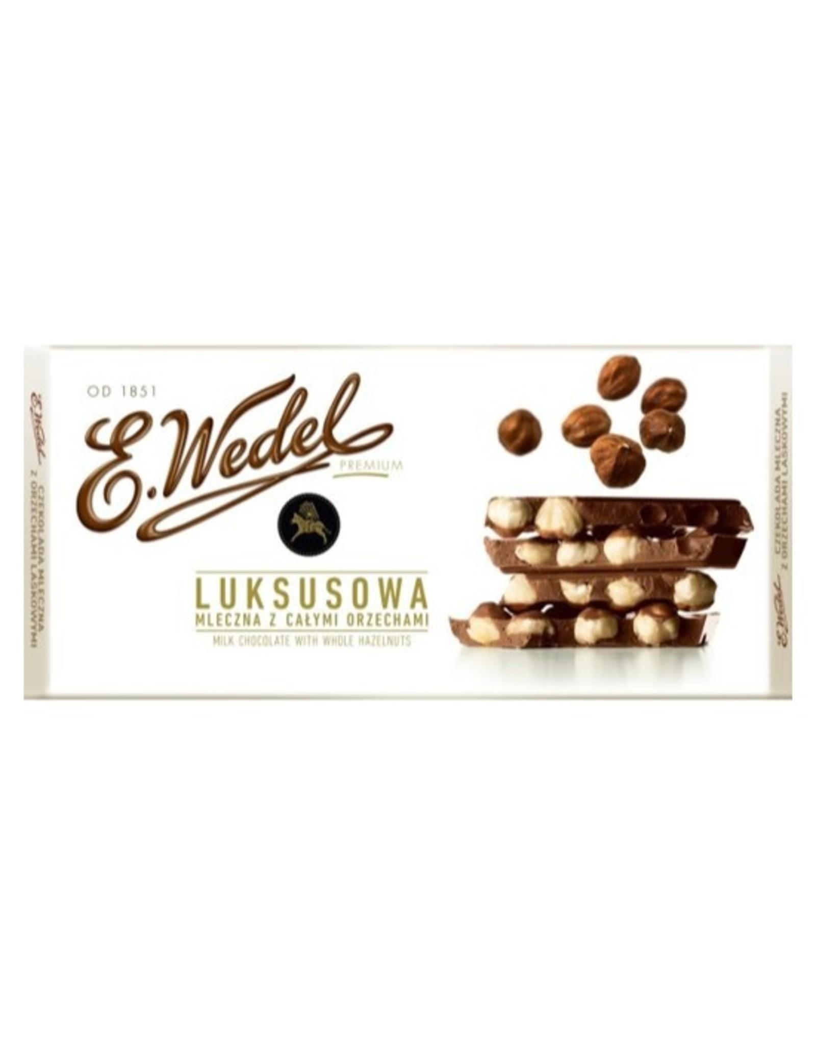 Wedel Hazelnut Milk Chocolate Bar