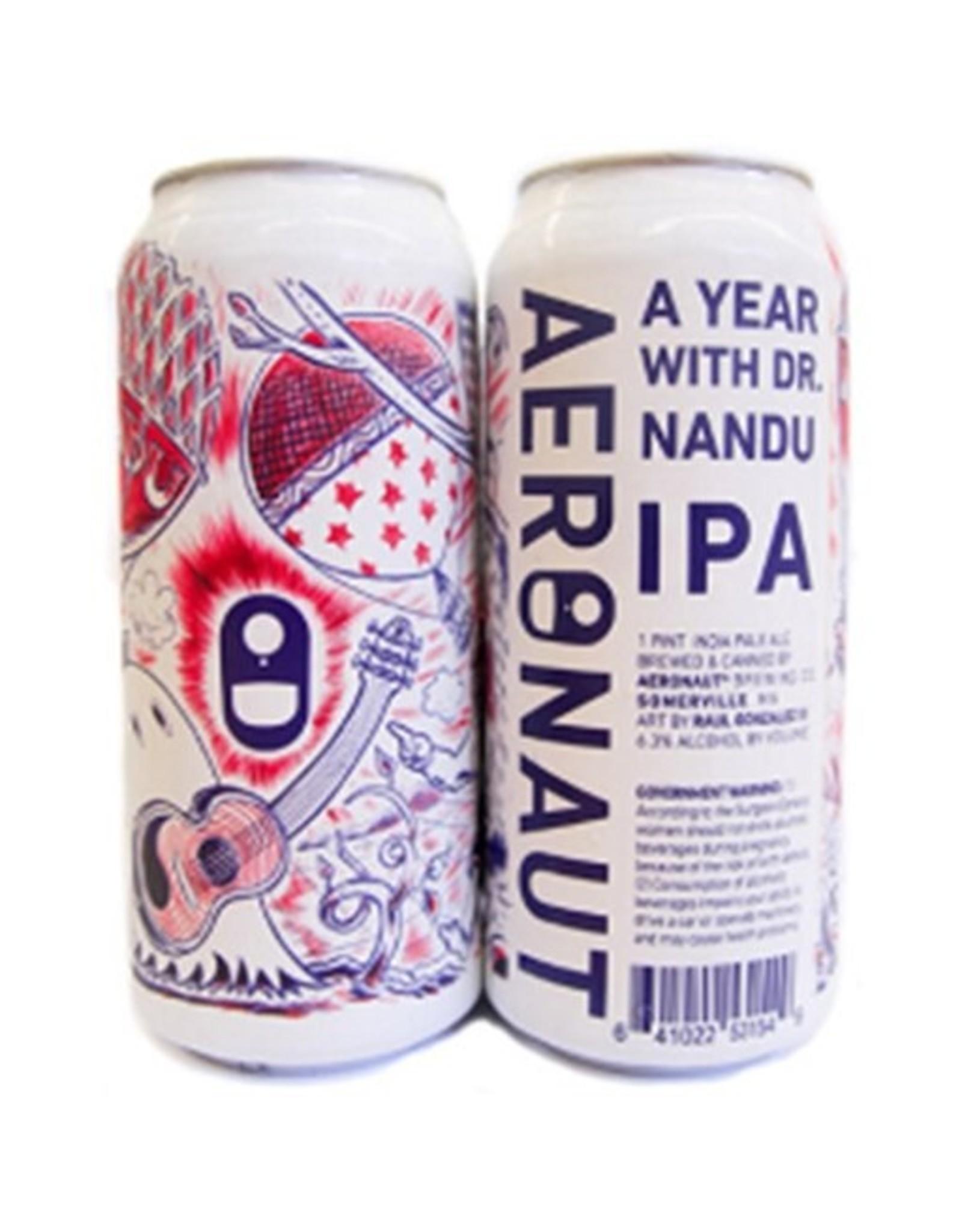 Aeronaut Brewing Co A Year with D. Nandu 4-Pack