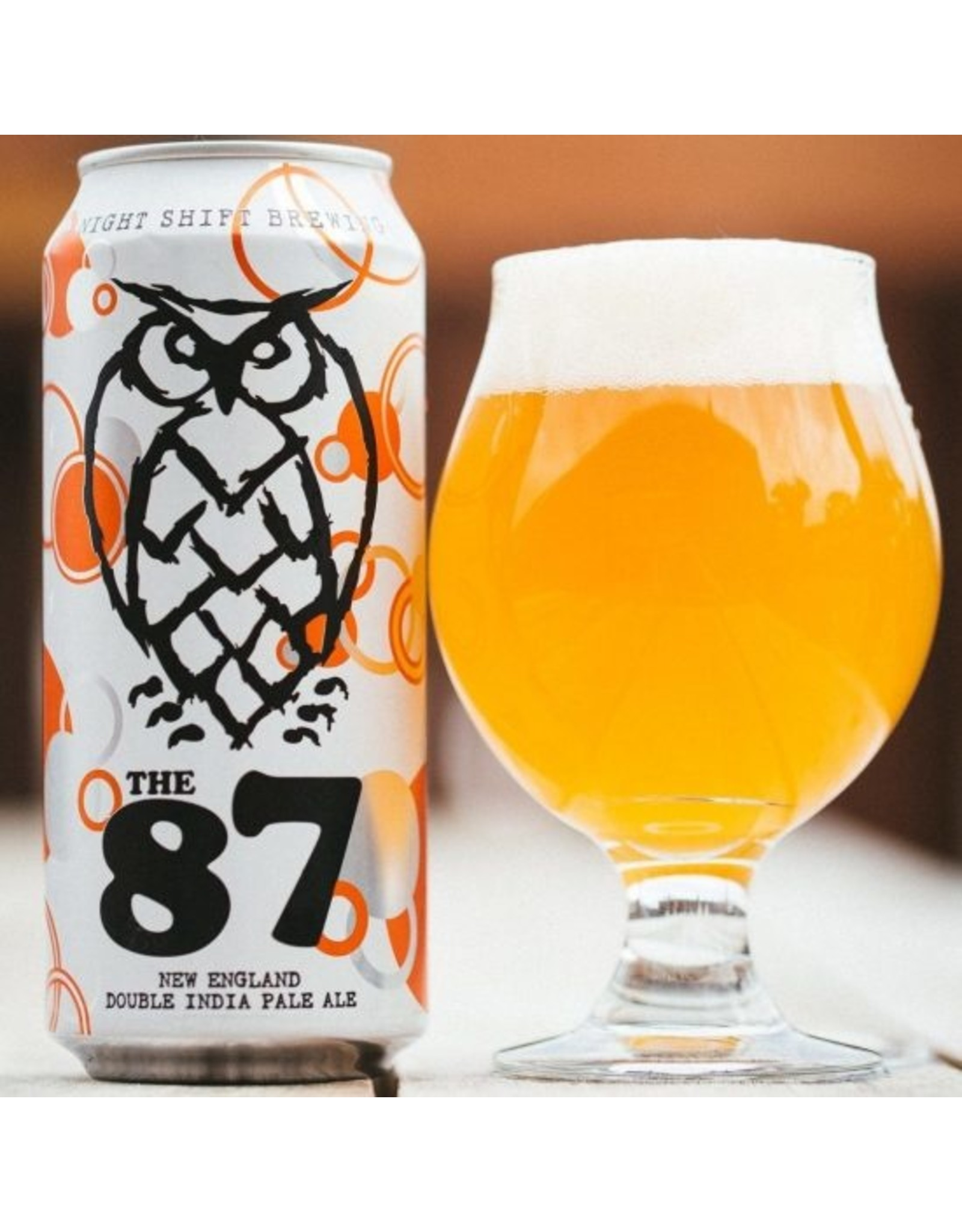 Night Shift Brewing The 87 NEIPA 4-Pack