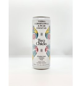 Two Chicks Vodka Fizz Sparkling Cocktail Can