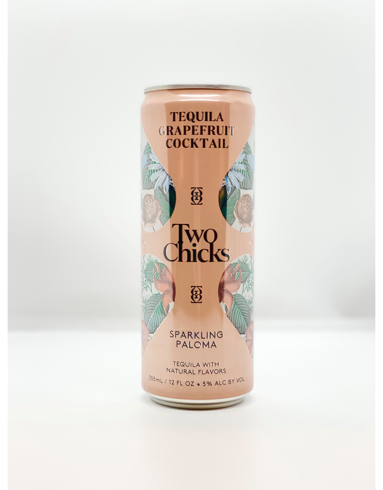 Two Chicks Paloma Sparkling Cocktail Can