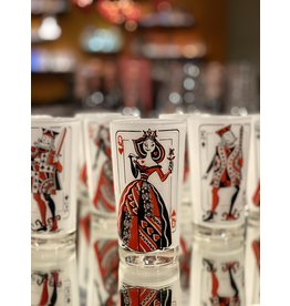 King & Queen Playing Card Tumblers