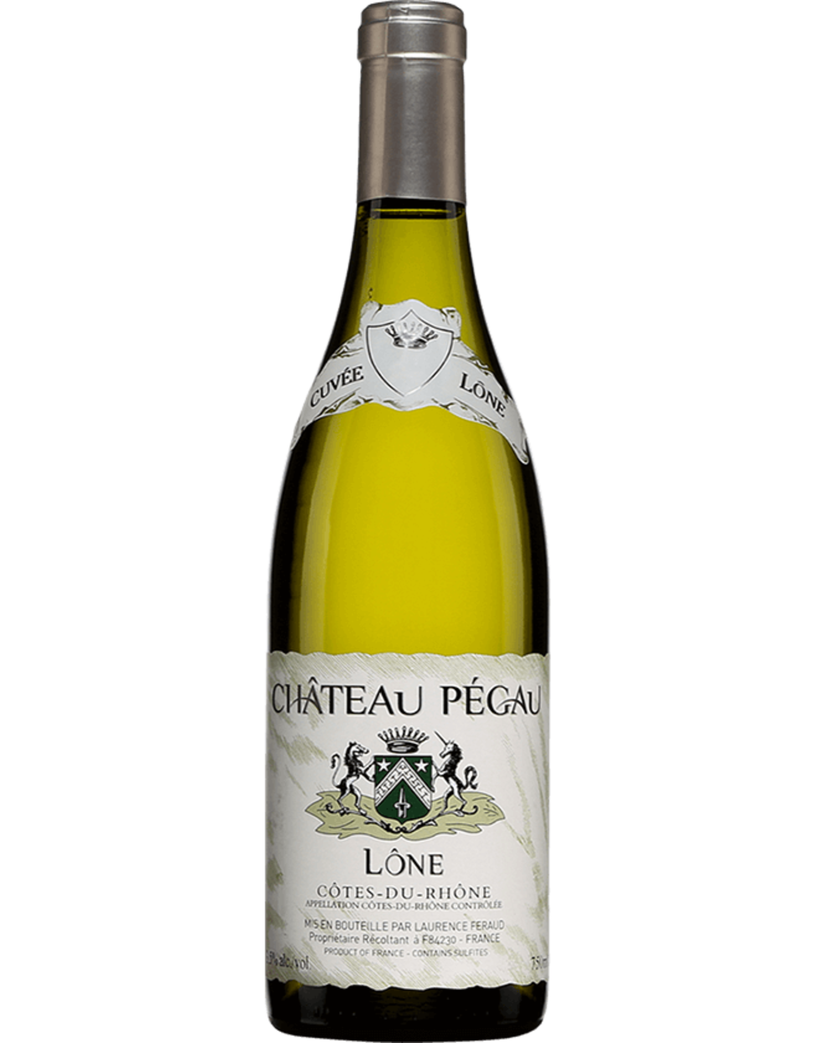 Chateau Pegau Cotes du Rhone Blanc Lone