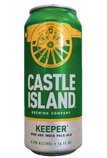 Castle Island Keeper IPA 4pk 16oz Cans