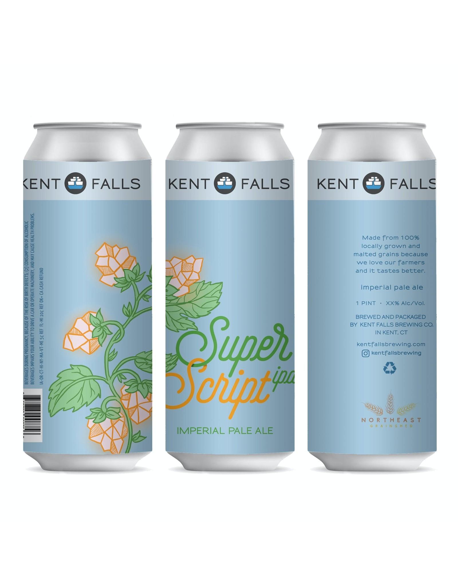 Kent Falls Super Script Imperial Pale Ale
