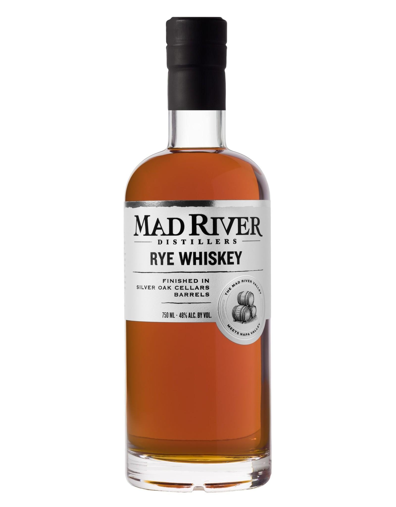 Mad River Distillers Rye - Silver Oak Casks