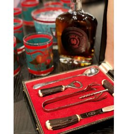 George Butler & Co 5 pc Bar Tool Set with Horn Handles
