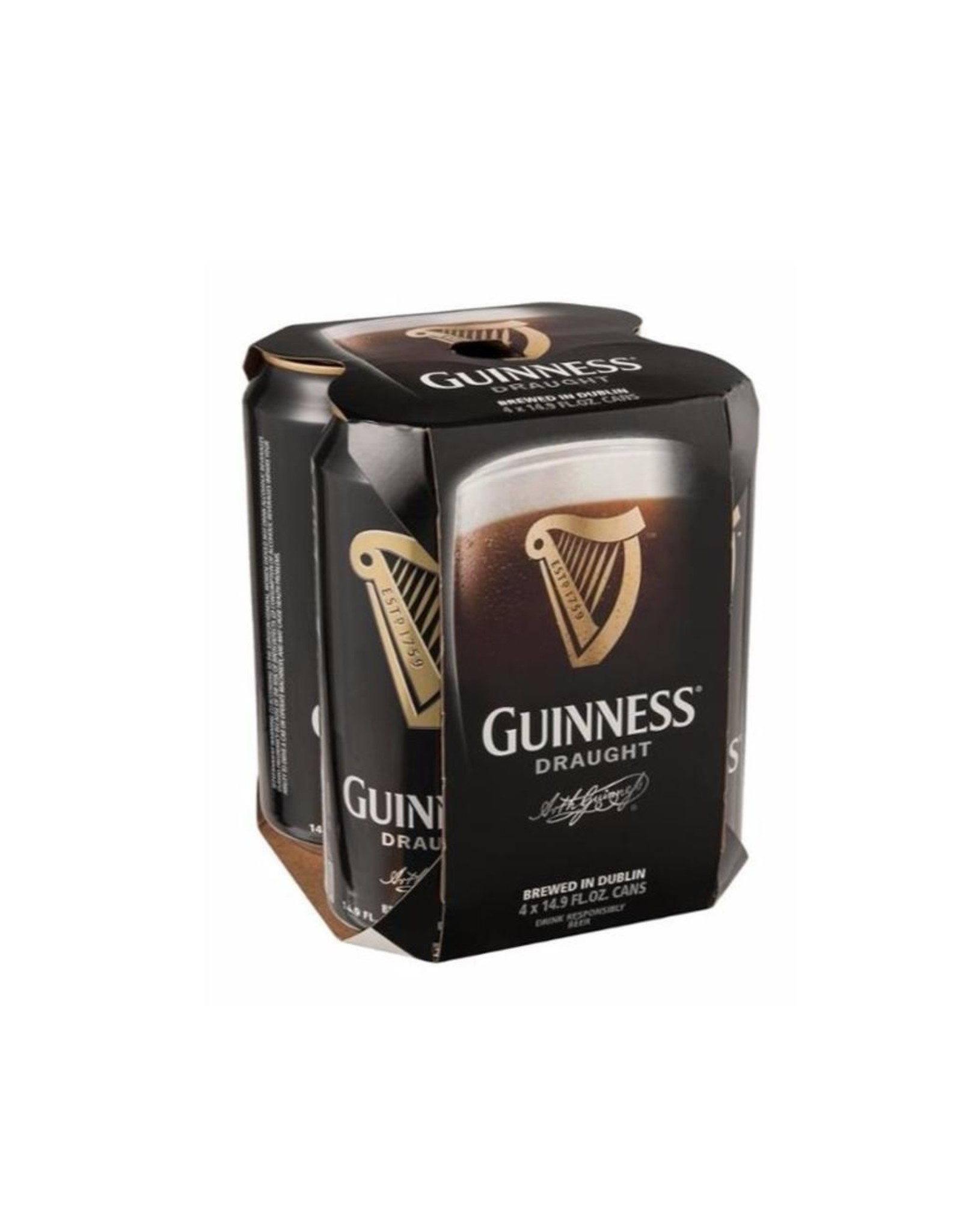 Guinness Pub Draught 4pk Can