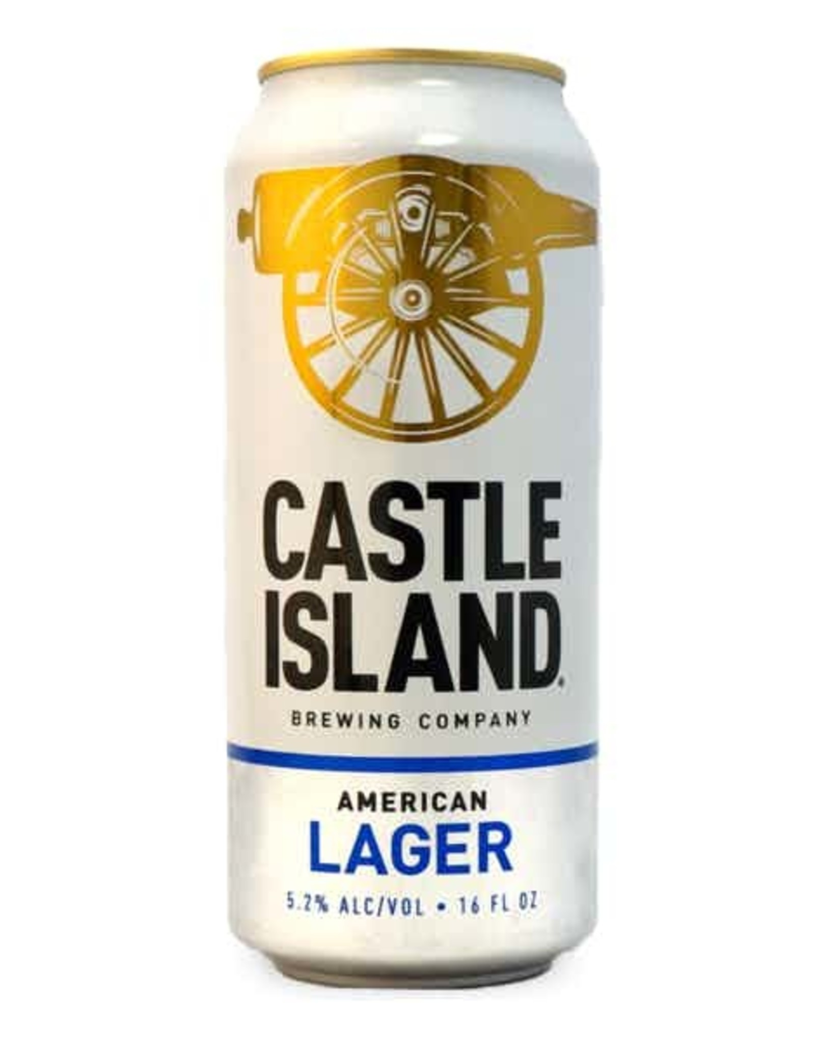 Castle Island Lager 16oz 4pk Cans
