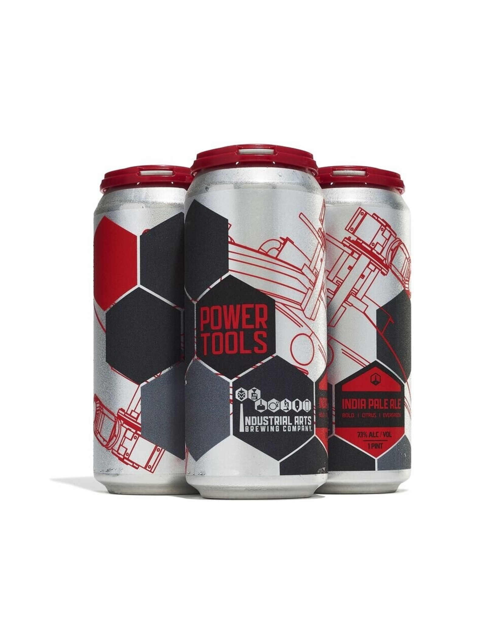 Industrial Arts Brewing Power Tools 16oz 4pk Cans