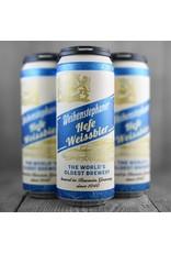 Weihenstephaner Hefe-Weissbier 16.9oz 4pk Cans