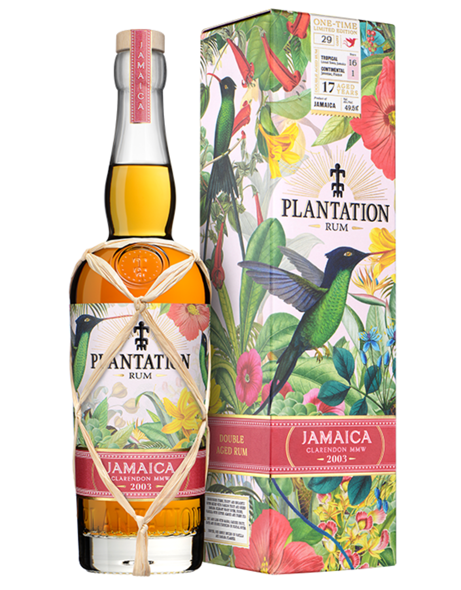 Plantation 2003 Jamaican Rum 16yr Clarendon MMW