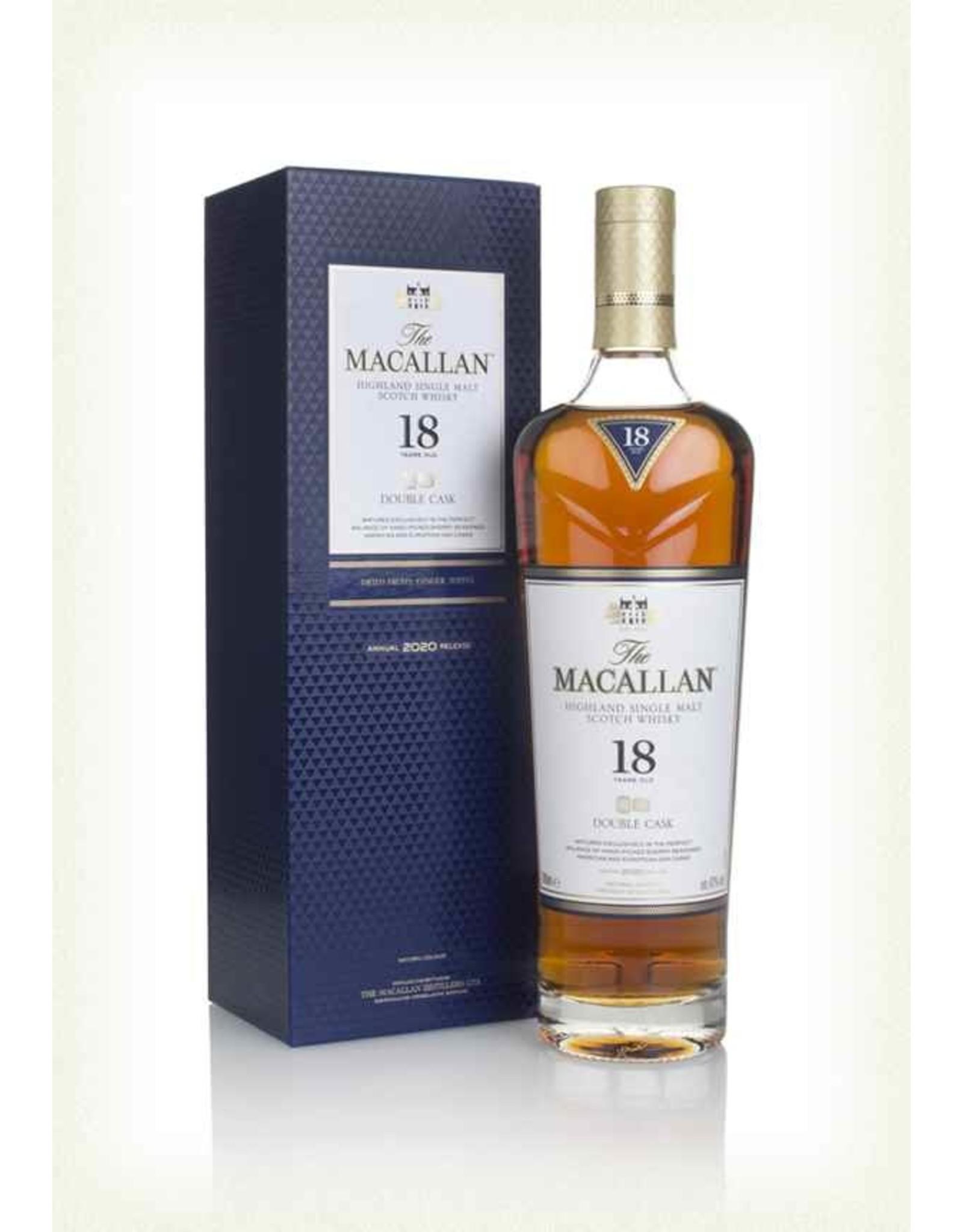 Macallan 18 Year Double Oak