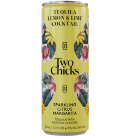 Two Chicks Citrus Margarita Sparkling Cocktail Can