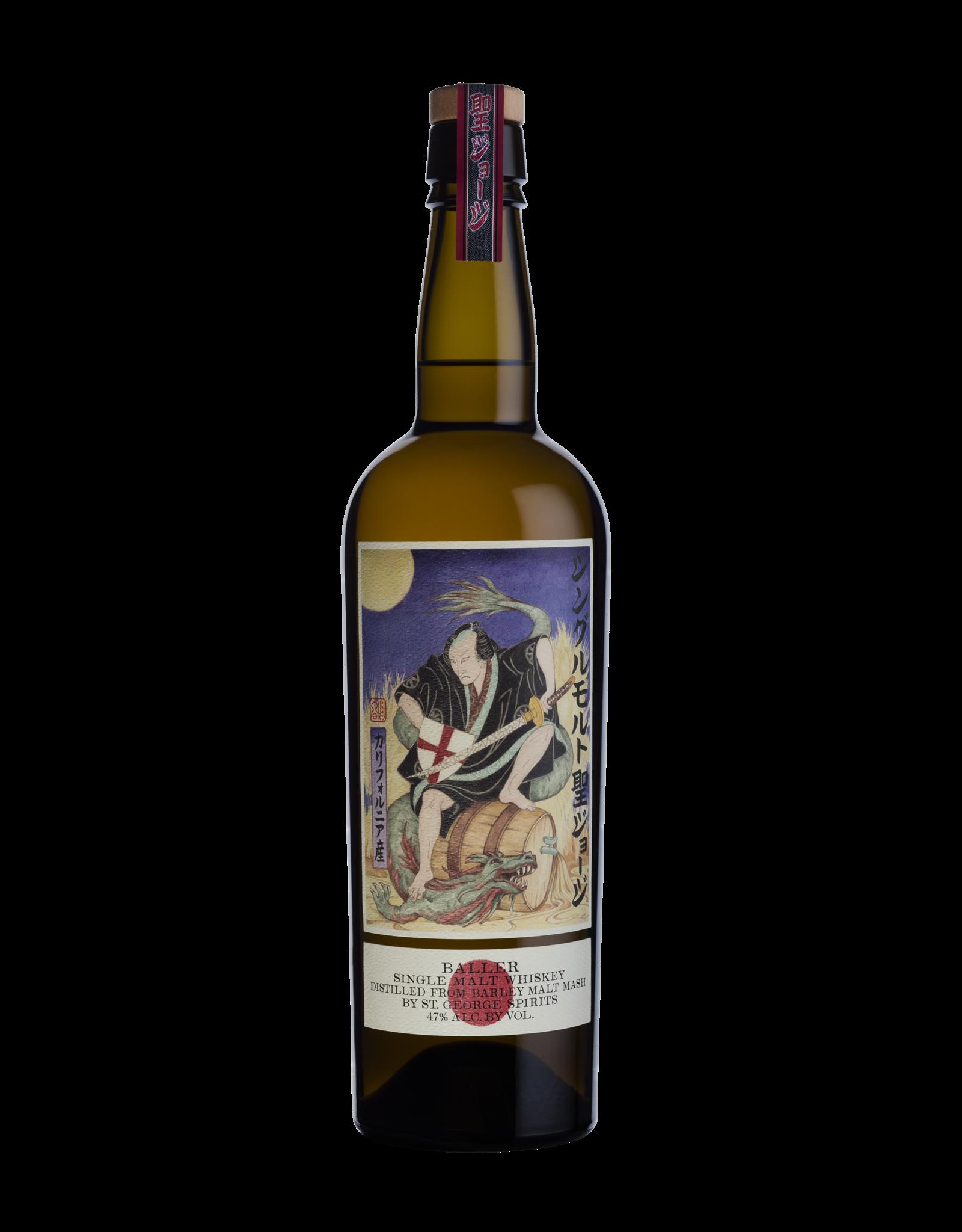 St. George Baller Single Malt Whiskey