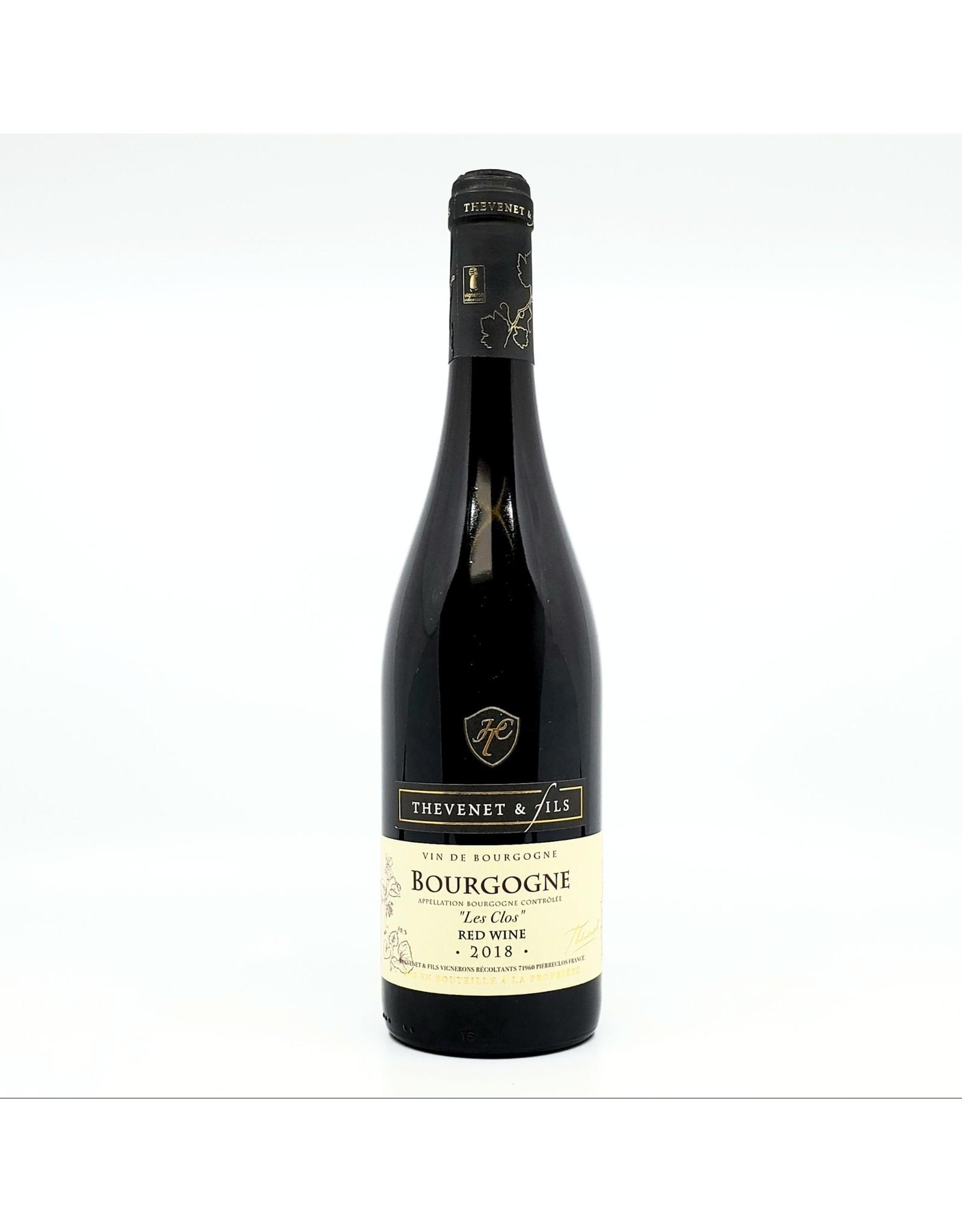 Thevenet & Fils Bourgogne Rouge Les Clos