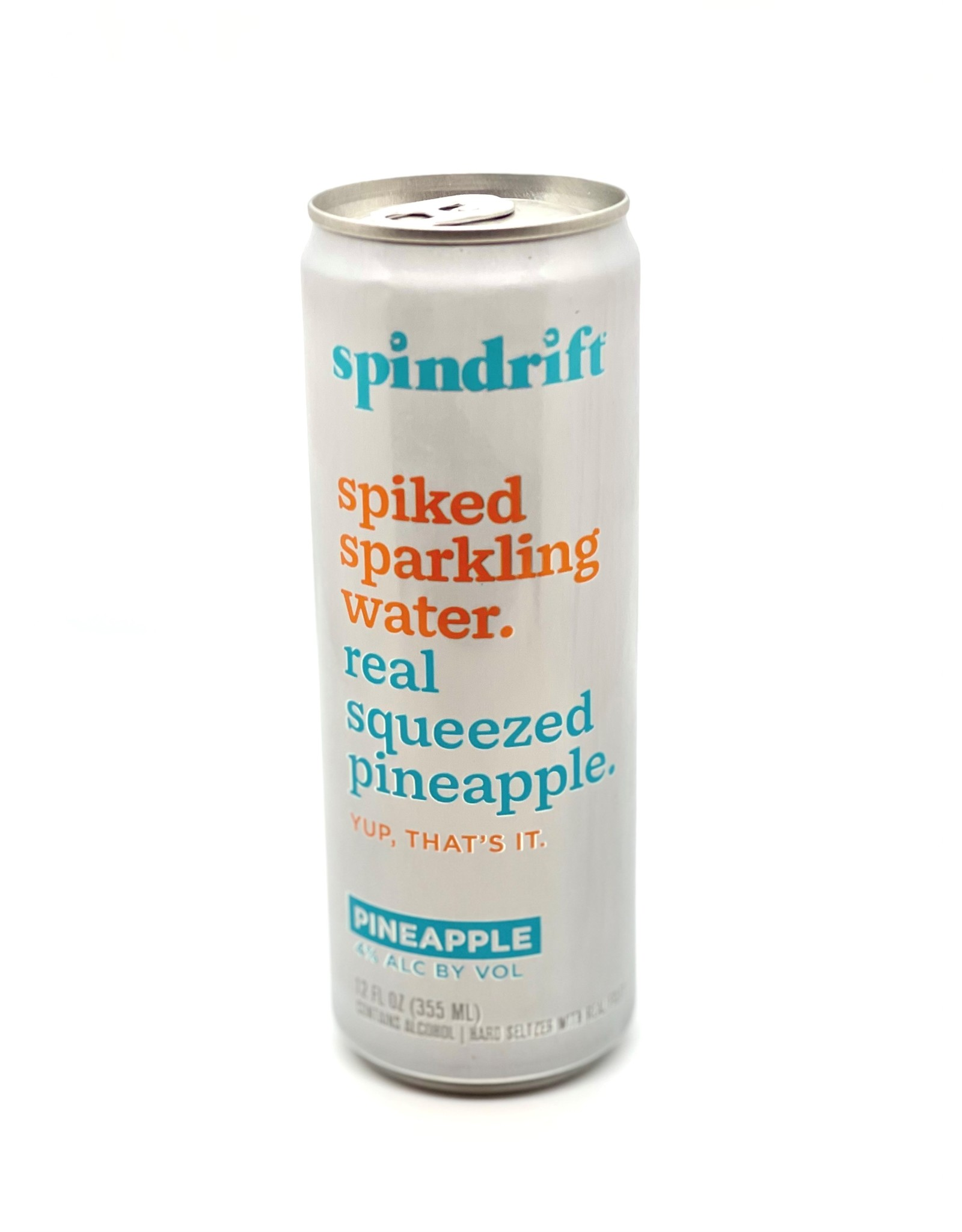 Spindrift Spiked Seltzer Pineapple 12oz Single Can