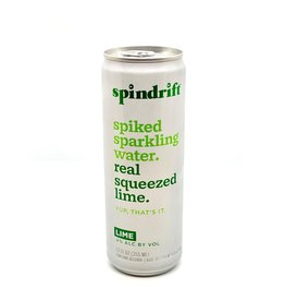 Spindrift Spiked Seltzer Lime 12oz Single Can