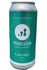 Progression Brewing Further NEIPA 16oz 4pk Cans