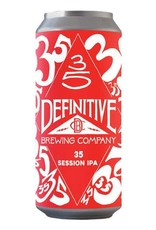 Definitive Brewing Co. '35' Session IPA